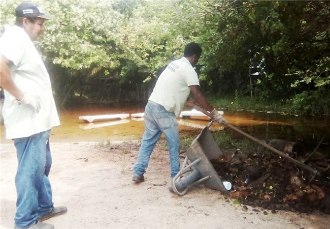 Prefeitura realiza recuperação do Rio Yaya