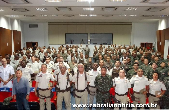 COMANDANTE GERAL DA POLÍCIA MILITAR VISITA PORTO SEGURO E TRAZ NOVIDADES E REALIZAÇÕES PARA A TROPA DA COSTA DO DESCOBRIMENTO.