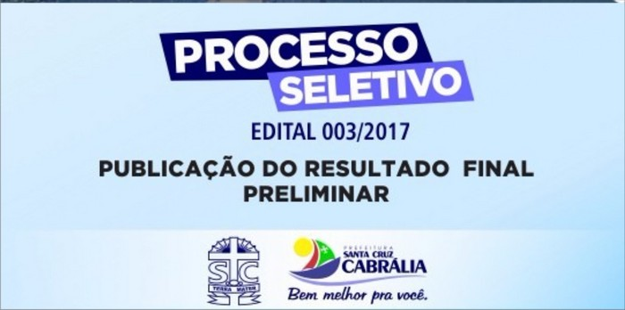 SELETIVO - PUBLICAÇÃO FINAL