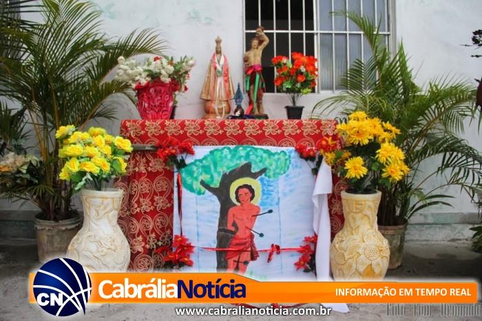 FESTA DE SÃO SEBASTIÃO UMA TRADIÇÃO HÁ MAIS DE 200 ANOS NO POVOADO DE SANTO ANTONIO EM CABRÁLIA