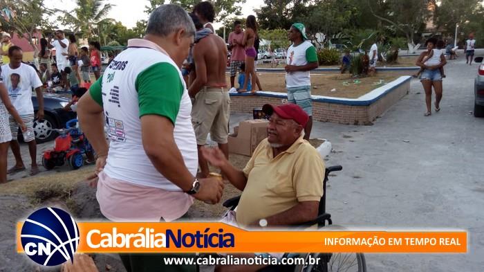 O povo abraça, confia e apoia o prefeito Agnelo Santos