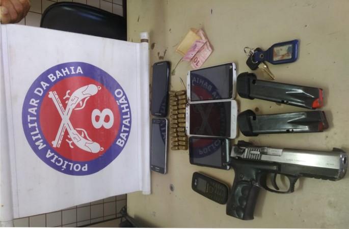 Ação da PM prende homens acusados de roubos Coroa Vermelha e na Orla Norte de Porto Seguro.