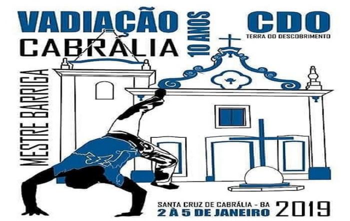 DE 2 a 5 DE JANEIRO 10 ANOS DE VADIAÇÃO EM CABRÁLIA