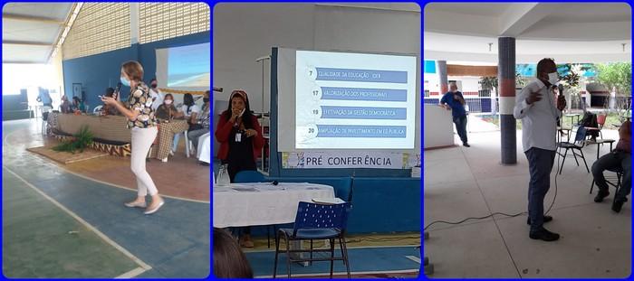Santa Cruz Cabrália é o primeiro município do Sul e Extremo sul da Bahia a realizar a Pré-conferência Municipal de Educação.