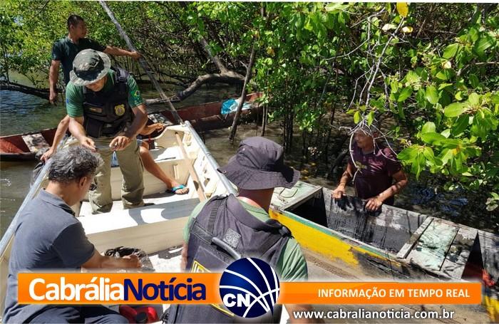 """Prefeitura de Cabrália apoia fiscalização ambiental do IBAMA em época de """"andada"""" do Caranguejo-Uçá"""