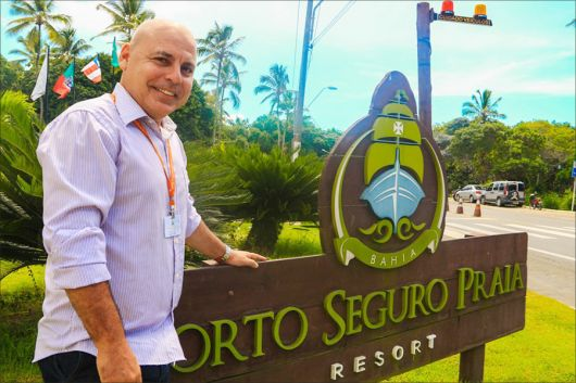 Ex-secretário de Turismo, Guto Jones assume gerência do Porto Seguro Praia Resort