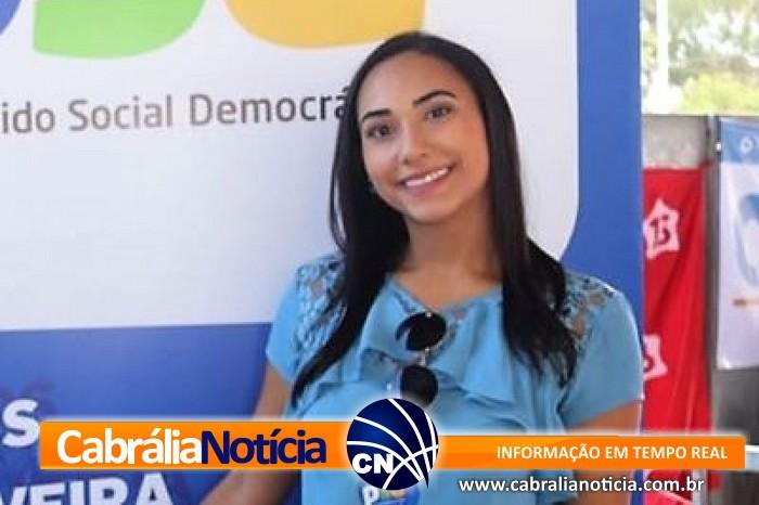 A Pré-Candidata a dep. estadual Larissa Oliveira realiza plenária nesta quinta-feira, no Hotel Oceania