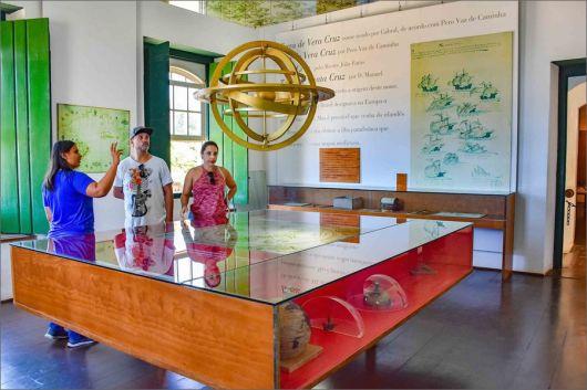 Museu de Porto Seguro é opção de lazer para moradores e turista