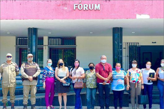 Prefeitura finaliza preparativos para o lançamento da Rede de Proteção à Mulher em Cabrália