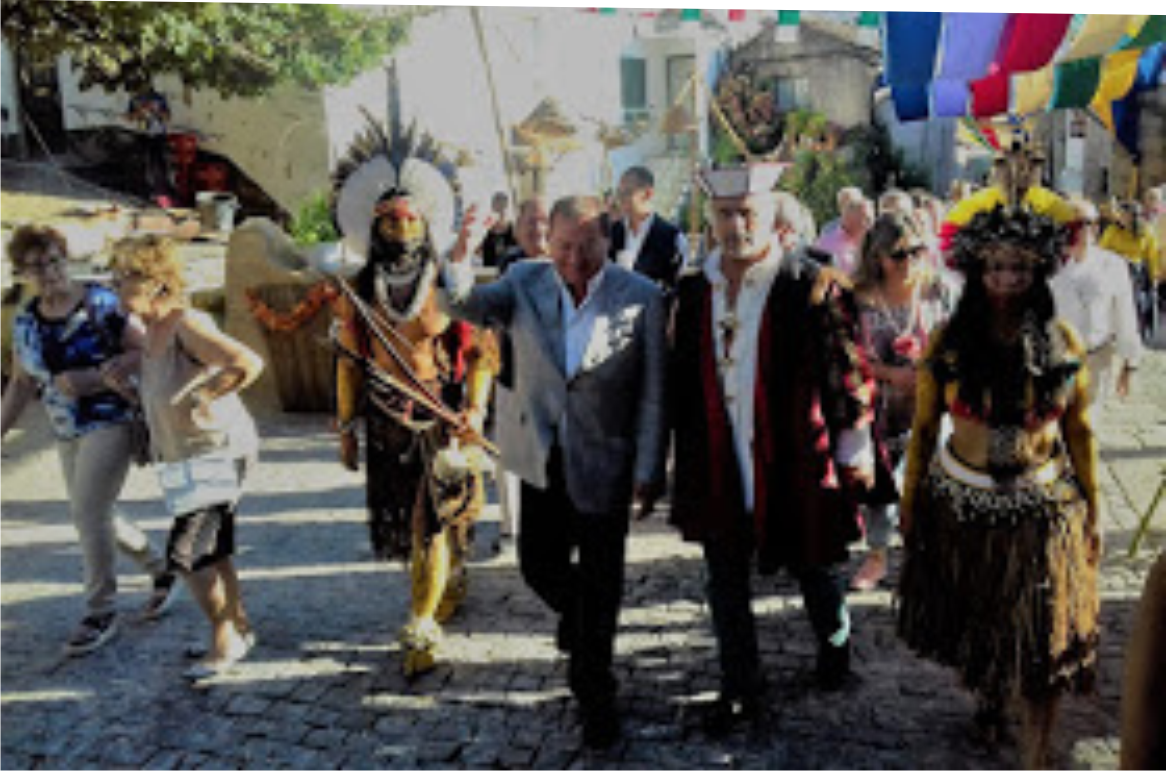 Cabrália participa de Feira Medieval em Belmonte - Portugal