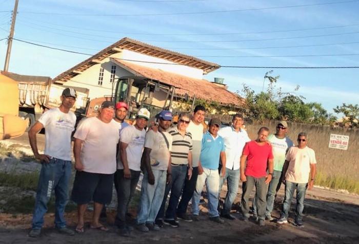 SUCESSO TOTAL NOS MUTIRÕES DESTA SENAMA NOS BAIRROS E DISTRITOS DE CABRÁLIA