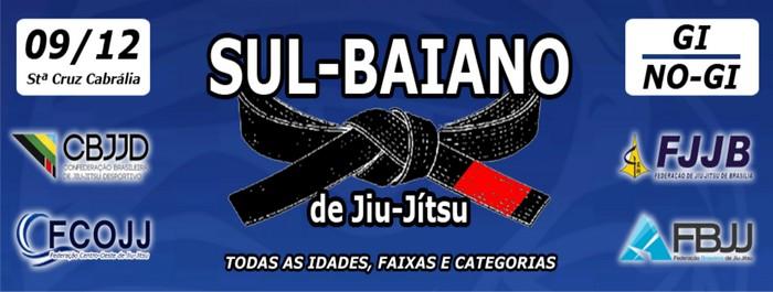 Santa Cruz Cabrália, recebe campeonato profissional de Jiu-Jitsu, em Dezembro