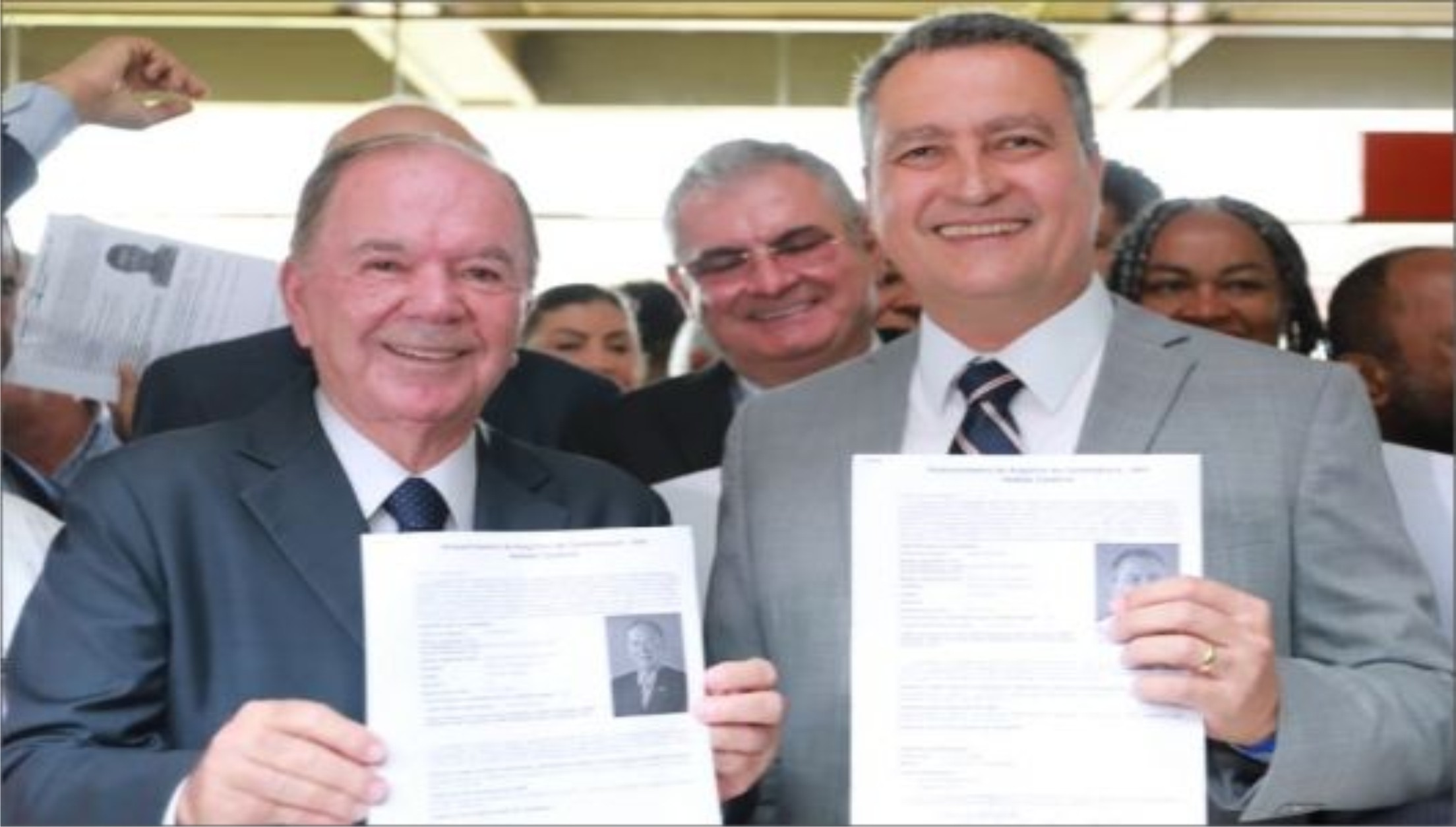 Rui Costa registra candidatura no Tribunal Regional Eleitoral e entrega o PGP - Programa de Governo Participativo 2018