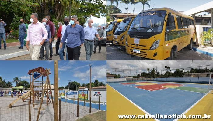 Os festejos de comemoração aos 188 anos de emancipação política de  Cabrália é marcada pela visita do Governador Rui Costa e sua comitiva.