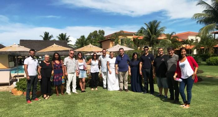 Costa Brasilis All Inclusive Resort & SPA sedia encontro entre empresários, executivos  da CVC e representantes da prefeitura de Cabrália visando estimular o turismo na região