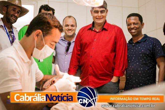 Prefeitura Municipal entrega cadeira odontologia nova para a melhoria da saúde na Vila Orailde