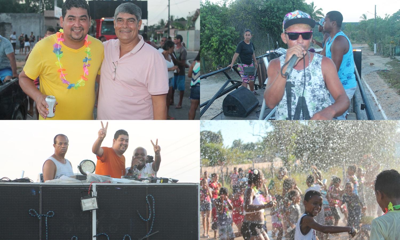 Carnaval Cultural de Ponto Central bombou neste final de semana