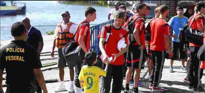 Cabrália cidade brasileira que recebeu Alemanha em 2014 divide coração após 4 anos
