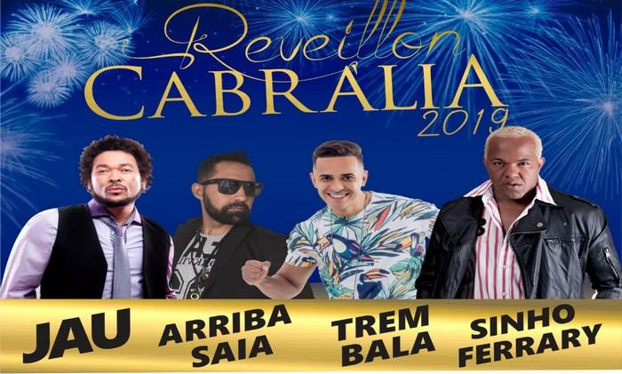 AGORA É OFICIAL - REVEILLON 2019 EM CABRÁLIA