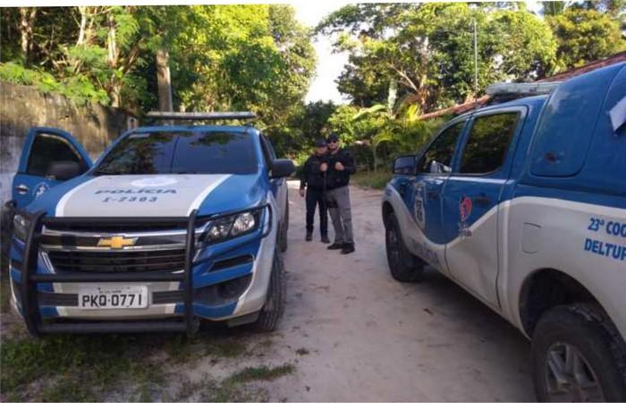 SANTA CRUZ CABRÁLIA. POLÍCIA CIVIL CUMPRE MANDADOS DE BUSCA EM VÁRIOS BAIRROS