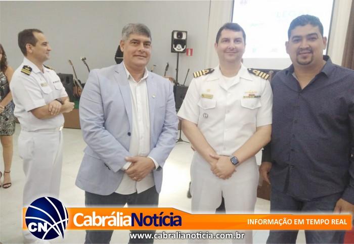 Prefeito Agnelo Santos participa do  Legal no Mar 2018 promovido pela Capitania dos Portos de Porto Seguro
