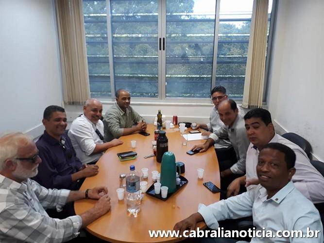 Prefeito visita órgãos em Salvador em busca de investimentos para Cabrália