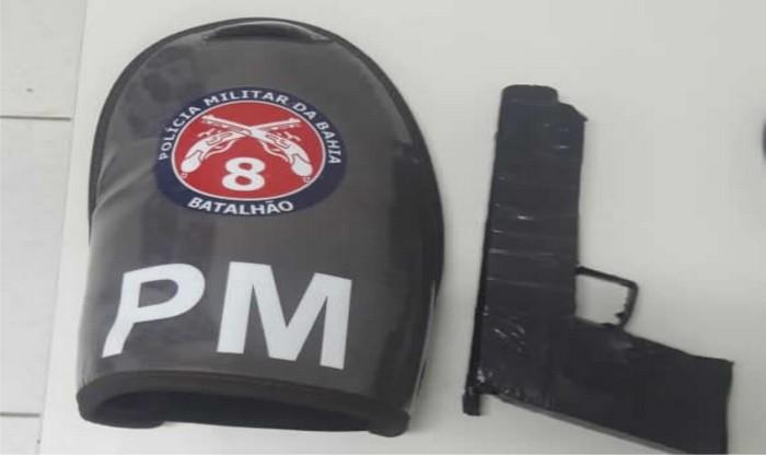 Polícia Militar apreende dois adolescentes suspeitos de cometer assaltos em Coroa Vermelha.