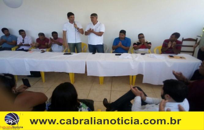 Dep. Cláudio Cajado participa de almoço com prefeito Agnelo em Cabrália