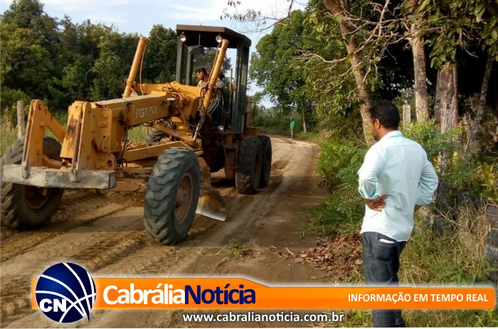 Projeto de Patrulha Mecanizada leva melhorias ao homem do campo em Cabrália