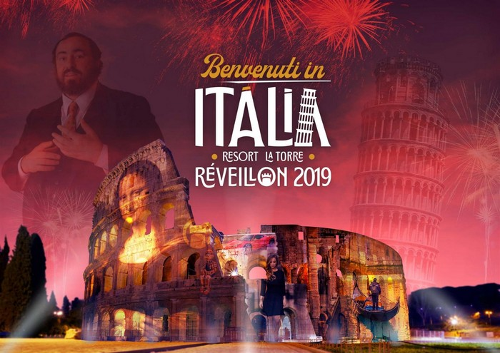 La Torre Resort terá Réveillon 2019 inspirado na Itália
