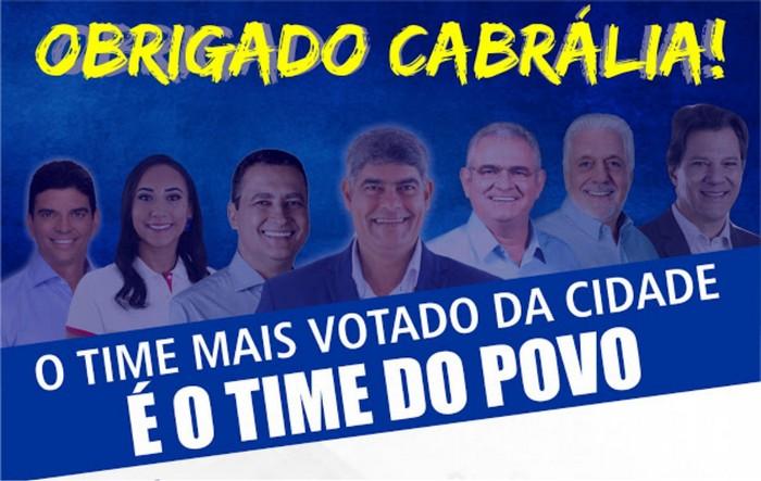 Liderança: O prefeito Agnelo e o povo seguem unidos com o resultado das eleições em Cabrália