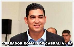 Hoje é o aniversario do presidente da Câmara de Vereadores de Cabrália Romali Pairana