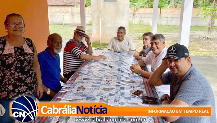 Prefeito Agnelo anuncia projeto de pavimentação, construção e reformas em Ponto Central