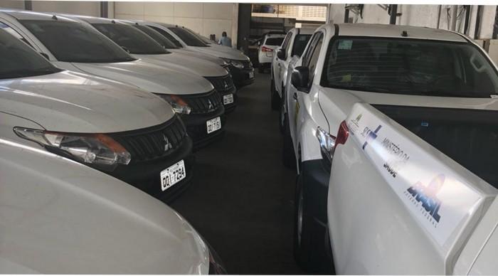 Cabrália recebe veículos que irão beneficiar  comunidades da região.