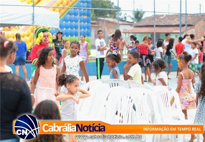 Mês da Criança tem evento de encerramento no Bairro Campo Verde