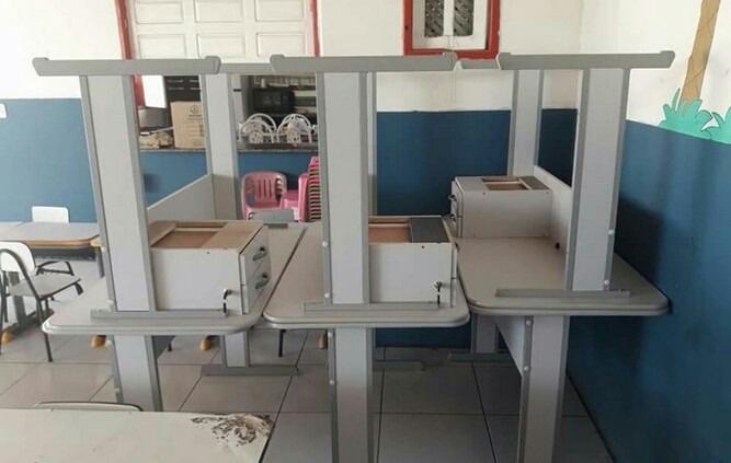 Prefeitura de Cabrália faz entrega de equipamentos e mobiliários a escolas públicas