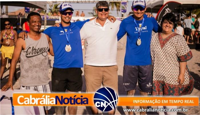 Capixabas e dupla da Argentina levam principais títulos no último dia do Pan-Americano de Beach Tennis em Santa Cruz Cabrália, na Bahia