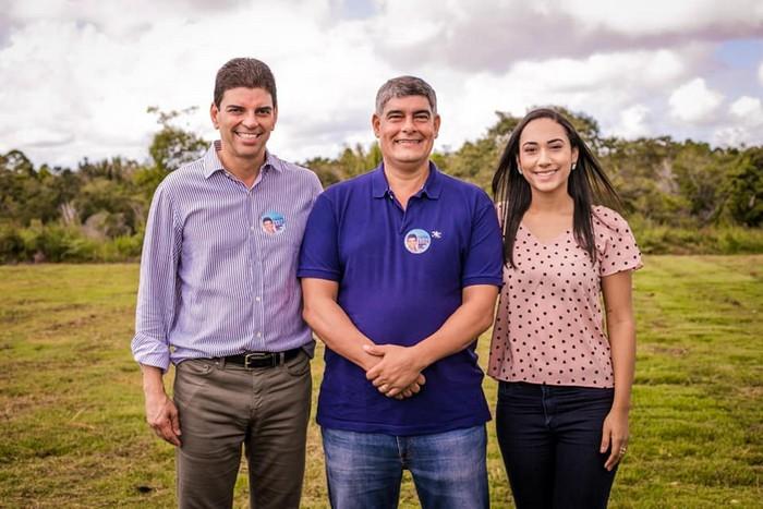 Prefeito apresenta seus candidatos na comunidade rural