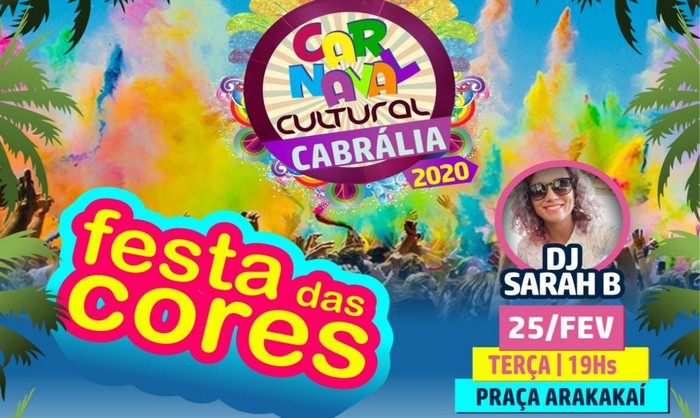 FESTA DAS CORES SERÁ DIA 25 NA PRAIA DE ARAKAKAI