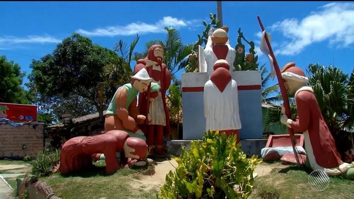 Monumento na BA que representa primeira missa celebrada no Brasil,  está sendo reformado