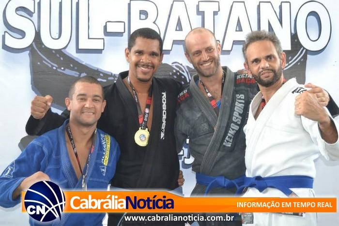 Campeonato de Jiu Jitsu Profissional foi atração de domingo em Cabrália