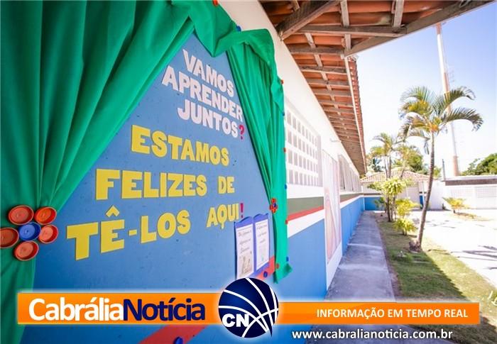 Escolas municipais ganham reformas para início de ano letivo, em Santa Cruz Cabrália