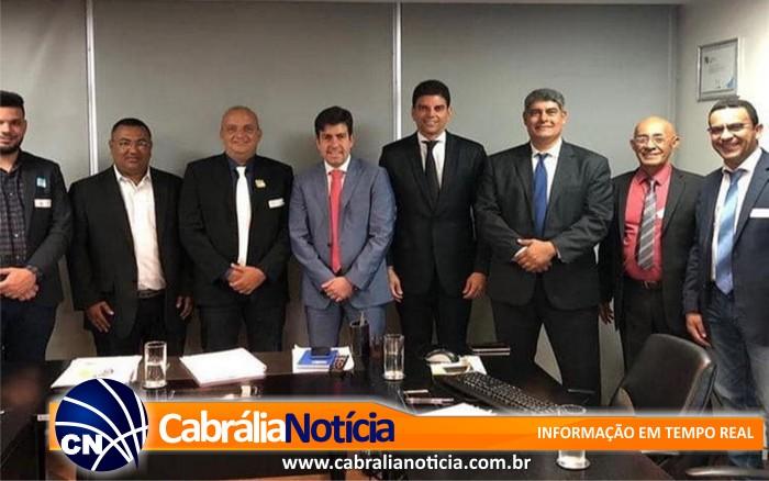 EM BRASILIA, PREFEITO AGNELO GARANTE EMENDAS PARA O MUNICIPIO