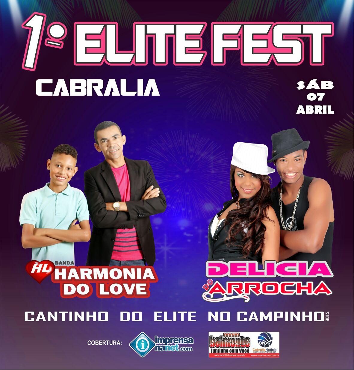 1º ELITE FEST DE CABRÁLIA