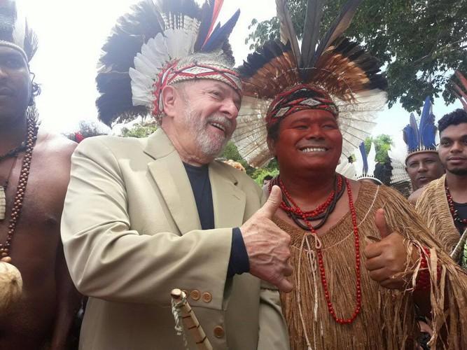 Cacique Aruã é pre-candidato a dep. estadual pela Bahia em 2018