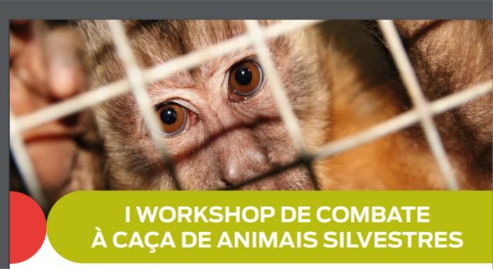 Ministério Público e Ibama prom 1º Workshop de Combate à Caça de Animais Silvestres
