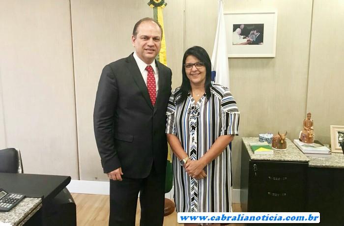 A saúde de Santa Cruz Cabralia não para