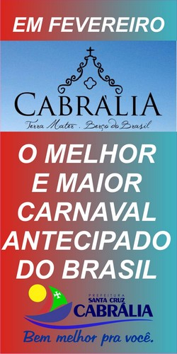 CARNAVAL EM CABRÁLIA