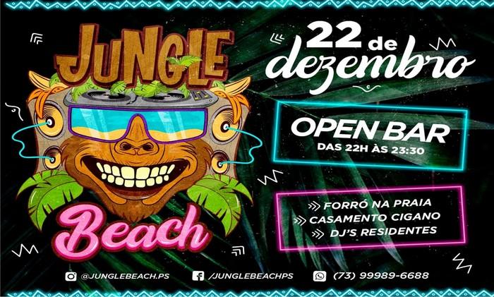 JUNGLE BEACH Inaugura no próximo sábado dia 22 de Dezembro.