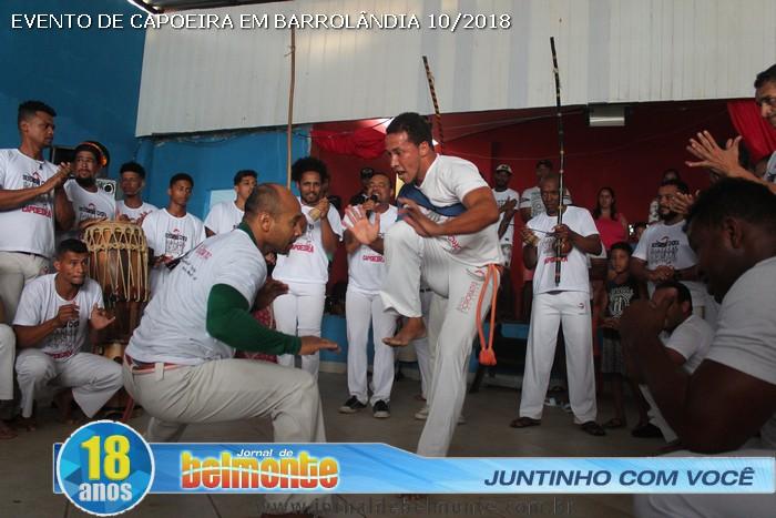 16 cidades presente no Encontro e Troca de Cordas do grupo de capoeira Águias Acrobatas de Barrolândia